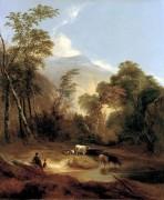495px-Pastoral_Landscape_by_Alvan_Fisher_1854.jpg