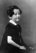 Japan --- Young Member of Japan's Imperial Household --- Image by © Horace Bristol/CORBIS