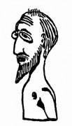 255px-Satie_autoportret_Projet_Buste_1913.jpg